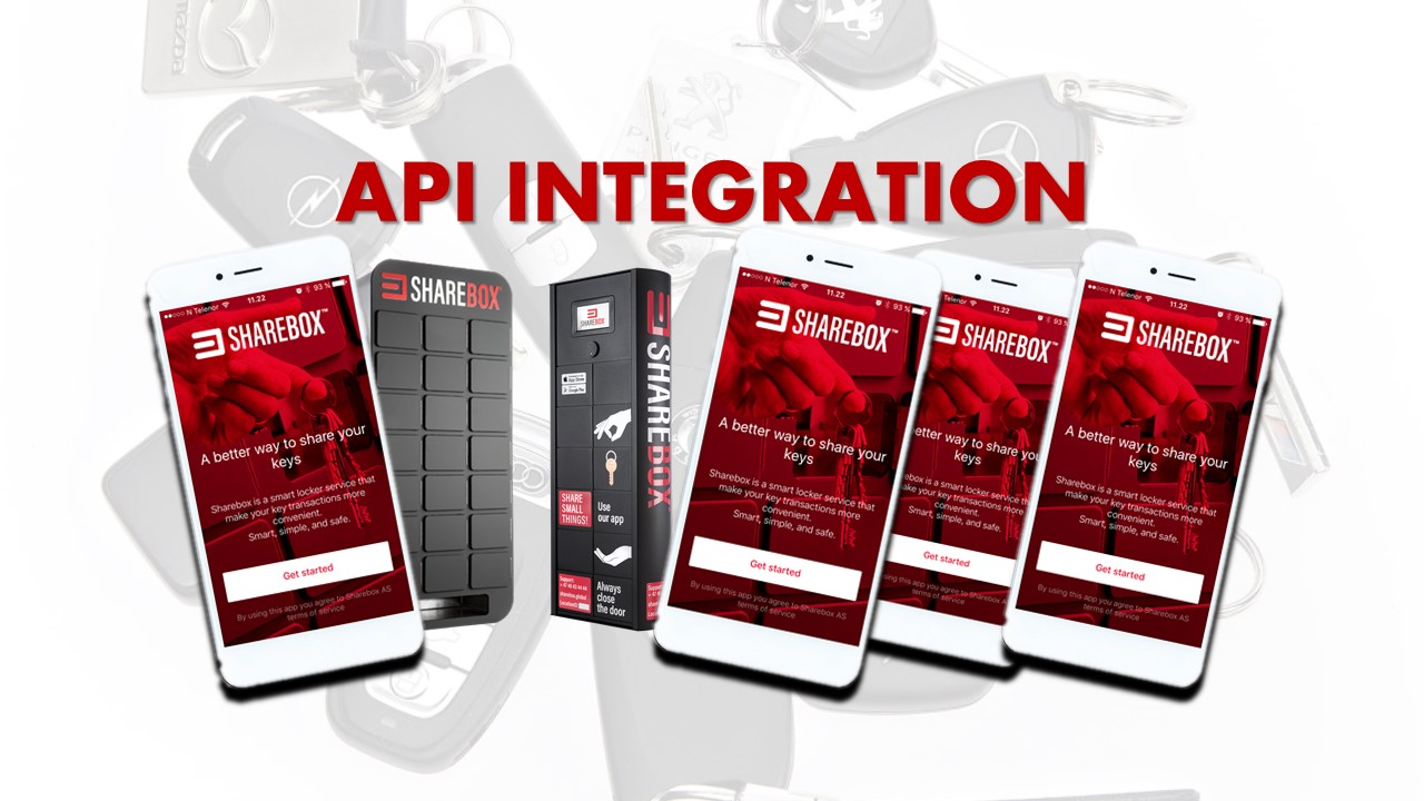 Sharebox API Integration