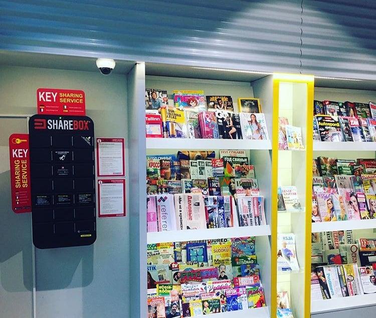 Sharebox R-Kiosk Tallinn
